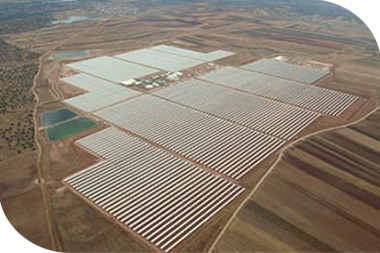 Bokpoort 50MW Condensed Solar Array Power Plant. Northern Cape. Xypex Admix C500NF utilised for all concrete bases in aggressive soil & groundwater.