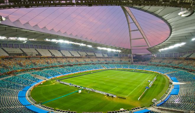 Inside Moses Mabhida Stadium