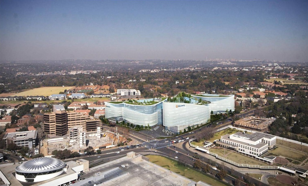 Discovery Health Head Office - Roofs
