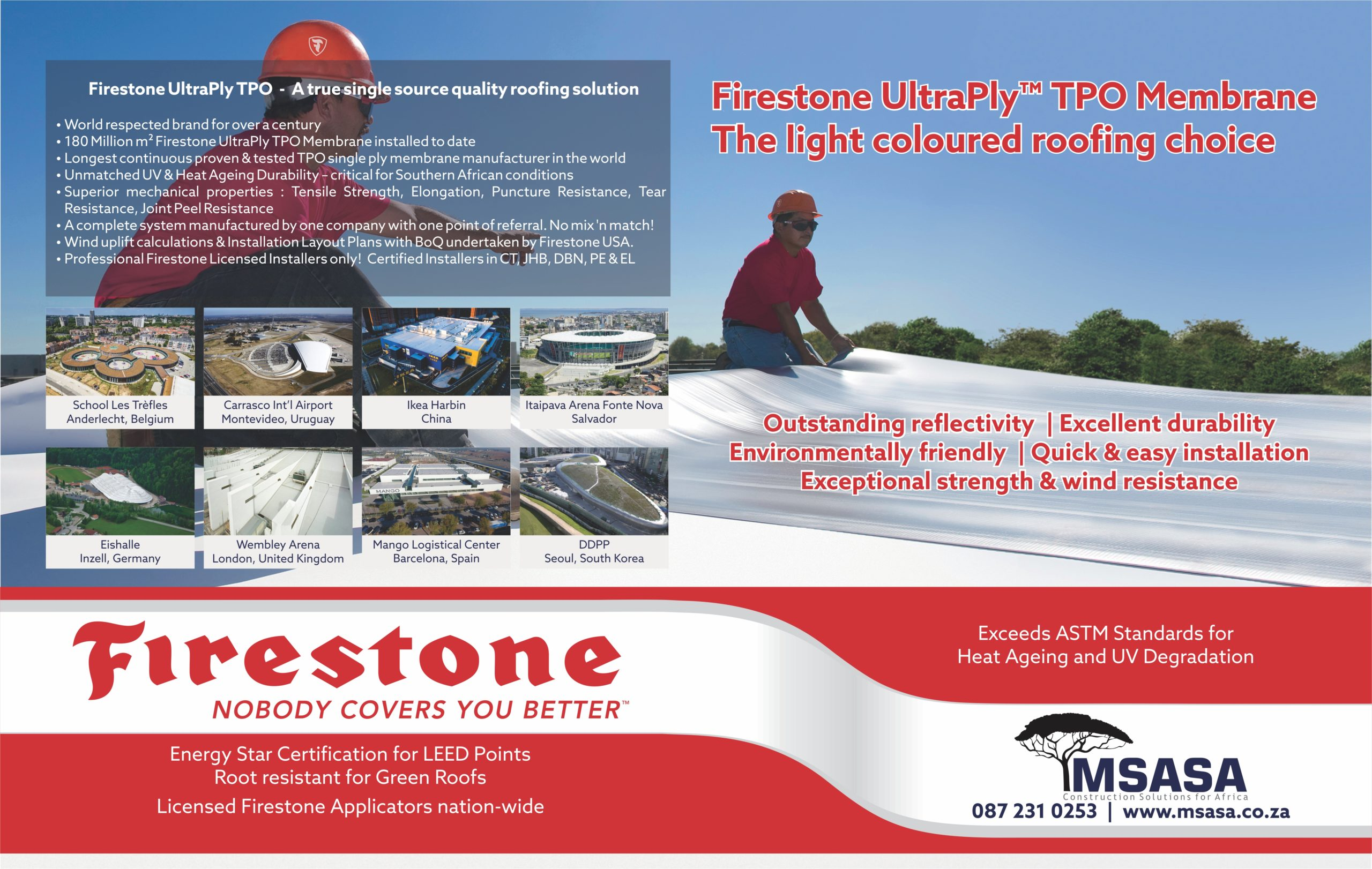 Firestone Roofing Products Msasa