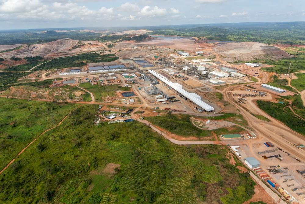 TENKE FUNGURUMI COPPER & COBALT MINE, DRC (Largest copper mine in the DRC)