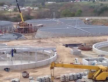 Waste Water Treatment Works (Xypex)